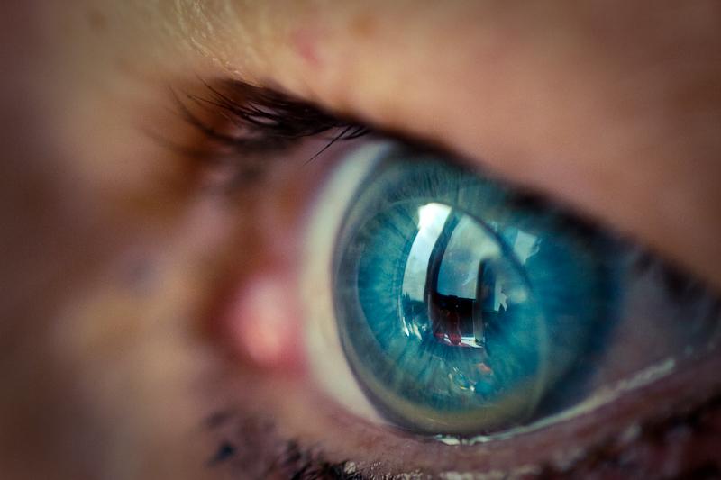 lente de contacto o futuro é mac