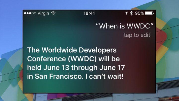Siri responde à WWDC 2016 o futuro é mac