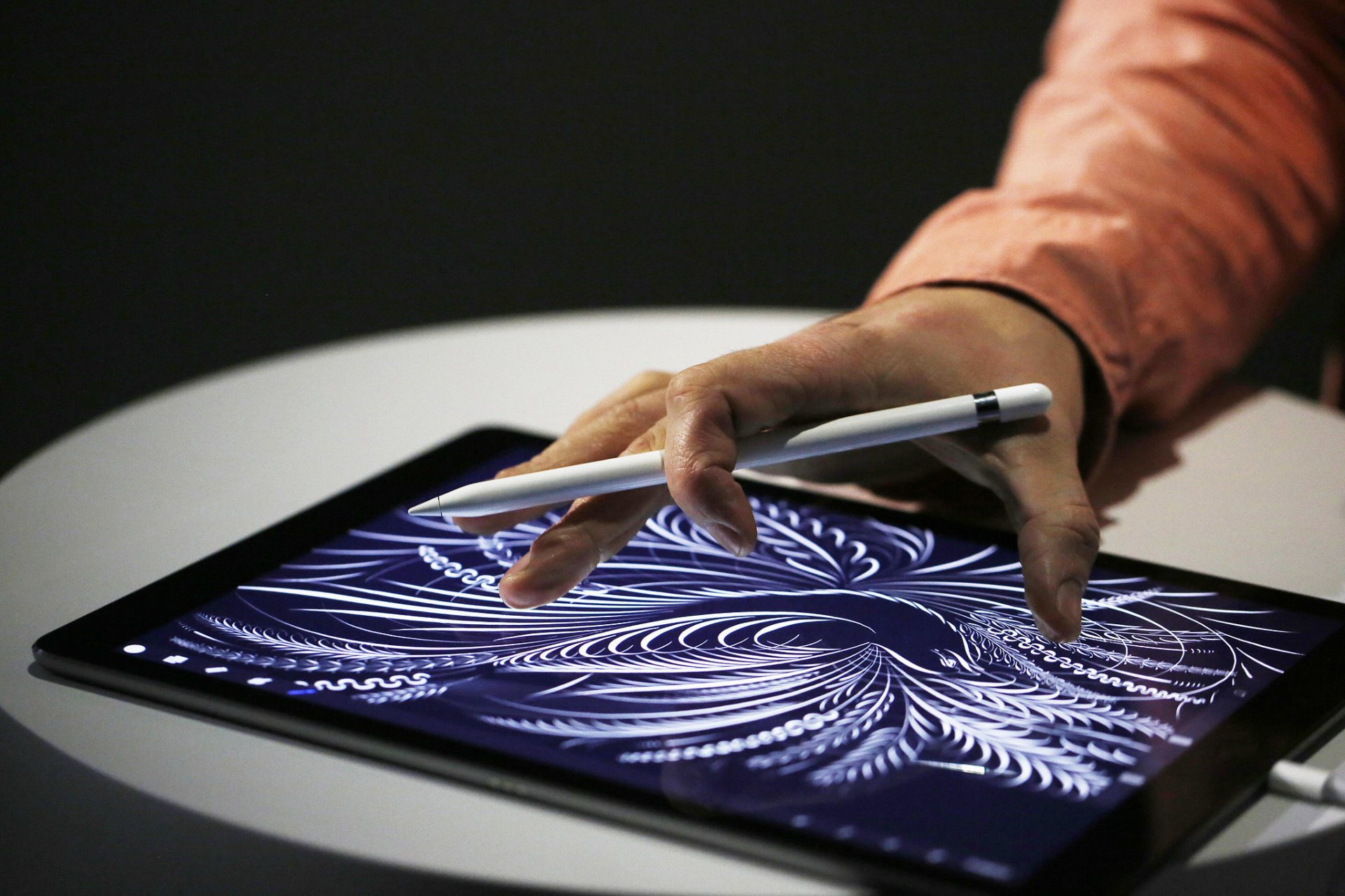 Apple Pencil desenho iPad o futuro é mac