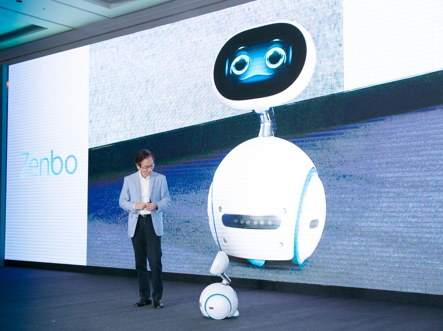 Asus Zenbo robot o futuro é mac