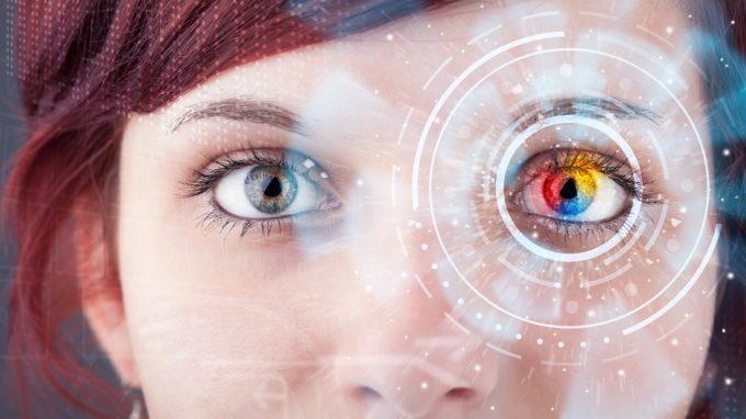 Lente de contacto inteligente o futuro é mac