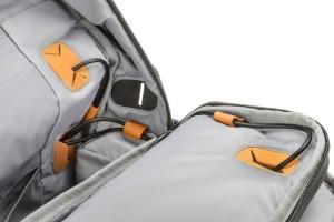 hp powerup backpack powerbank mochila loop holes o futuro é mac