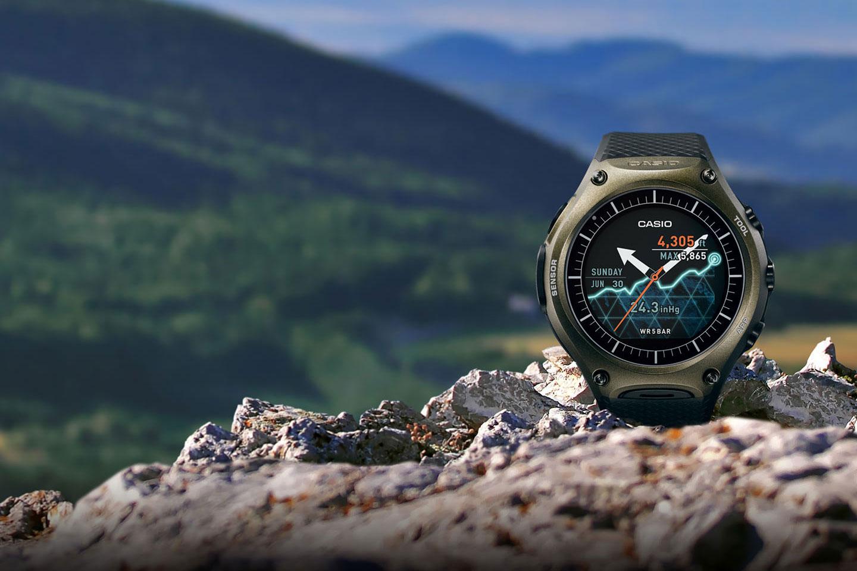 relógio casio wsd-f10 smart outdoor watch o futuro é mac