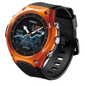 relógio casio wsd-f10 smart outdoor watch showcase o futuro é mac