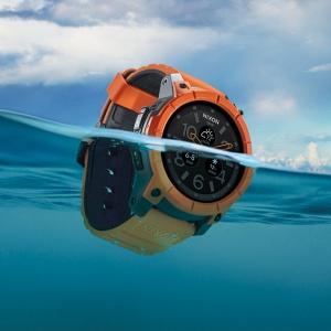 relógio watch nixon the mission androidwear o futuro é mac surf