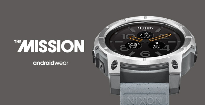 relógio watch nixon the mission androidwear o futuro é mac