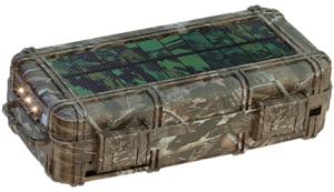 rokpak camo camouflage powerbank solar charger o futuro é mac