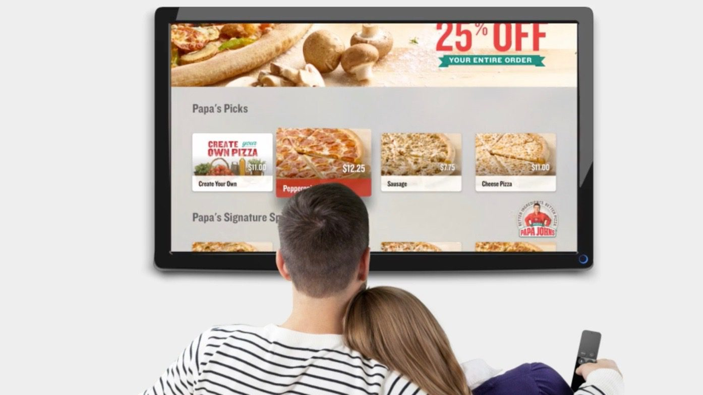 apple tv papa johns app o futuro é mac Tiago Peixinho