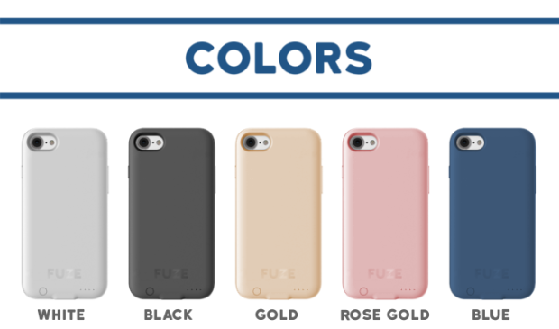 Cores da Fuze case jack de 3.5mm no iphone 7 e iPhone 7 Plus Pedro Topete Apple Blog Portugal.png